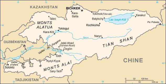 Kirghizistan_carte